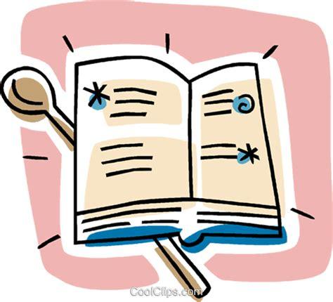 animation cuisine livro de receitas livre de direitos vetores clip