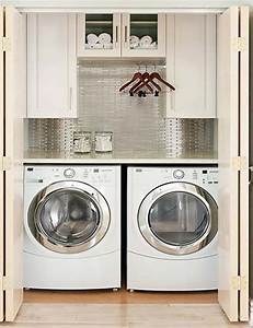 best 25 small laundry closet ideas on pinterest laundry With suggested ideas for laundry room design