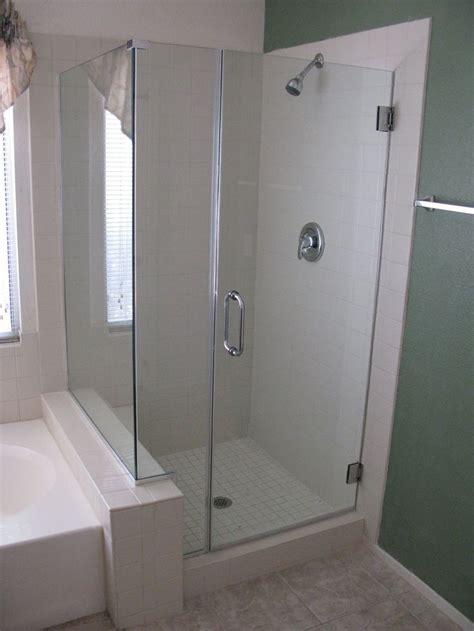 Glass Door For Fiberglass Shower by Bathroom Shower Glass Door Cleaning Stribal Design