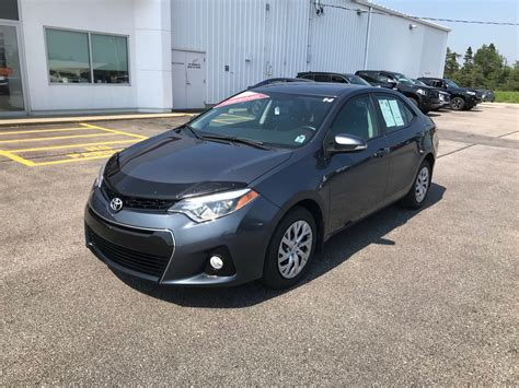 Used 2014 Toyota Corolla by Used 2014 Toyota Corolla S Sport In Yarmouth Used