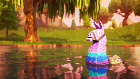 supply llama   hd fortnite battle royale wallpaper