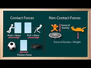Forces And Motion Lesson 13  14  15 Contact And Non
