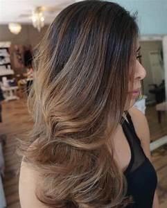 Hellbraune Haare Mit Blonden Strähnen : frisuren braune haare mit str hnen frisur ~ Frokenaadalensverden.com Haus und Dekorationen