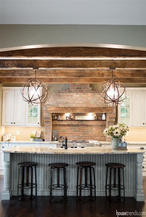 farmhouse kitchen island lighting rustic cottage kitchen