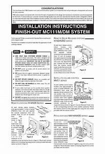M U0026s Systems Mc111m  Dm Installation Instructions Pdf