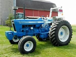 17 Best Images About Blue Ford Tractors On Pinterest