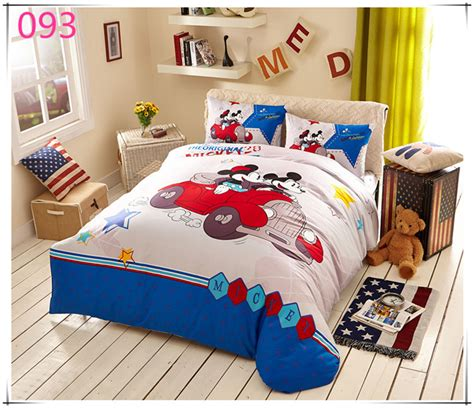 free shipping minnie bedding sets kids mickey mouse duvet