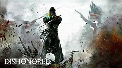 Mashup Mashups Awesome Gamer Wallpapers Dishonored Elderly