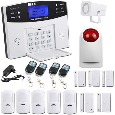 sungle kit alarme maison sans fil auto appel t 233 l 233 phonique antivol maison achat vente kit