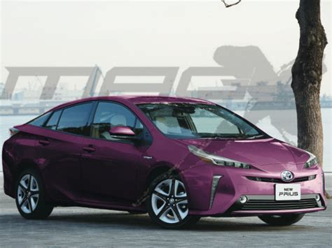 2019 Toyota Prius Will Be Restyled To Look More Like Prime