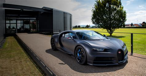 Visually the car is finished with. La Chiron Sport « 110 ans Bugatti » sera la 200ème Chiron