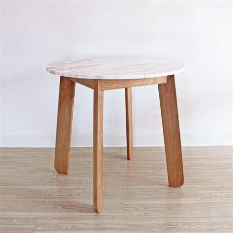 โต๊ะกลมหินอ่อน - Polar Table (R4L) - Mahasamut
