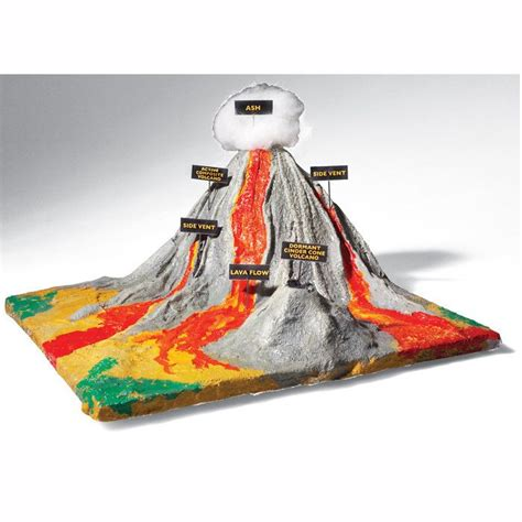 volcano projects  middle school google search