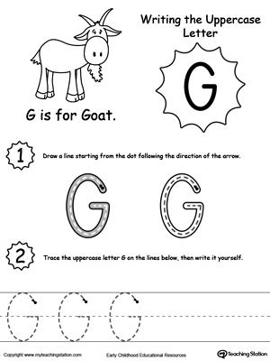 g worksheets for preschool preschool and kindergarten worksheets myteachingstation 713