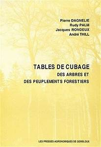 Tables De Cubage Des Arbres Et Des Peuplements Forestiers