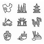 China Icon Chinese Icons Temple Vector Furniture