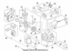 Troy Bilt Tb35ec 41cdz35c766 Parts Diagram For Engine Assembly