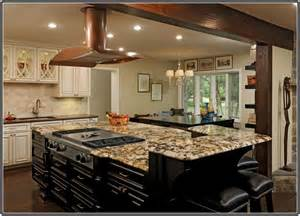 Kitchens Islands With Seating Granite Top Kitchen Island With Seating Home Design Ideas