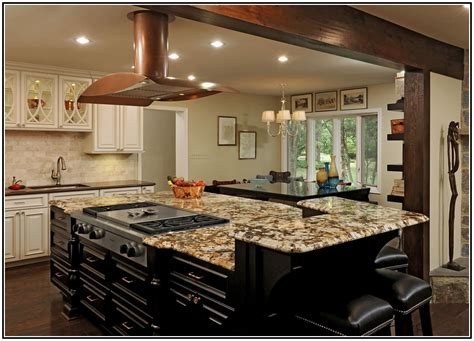 granite top kitchen island seating home design ideas