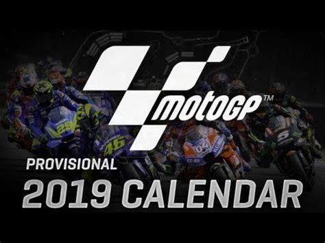 motogp  calendar circuitsschedule youtube