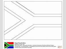 south african flag clipart black and white Clipground