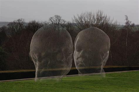 Besucherzentrum Des Sculpture Park In West Bretton by Immaculate Larger Than Sculptures As Sanctified