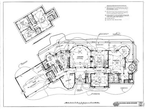 Electrical Plan Symbols House Electrical Blueprints, House