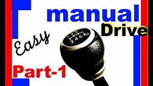 How To Drive Manual Car Basic Easy Techniques