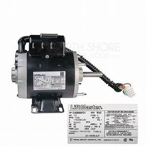 Liftmaster K20 2hp Motor For Commercial
