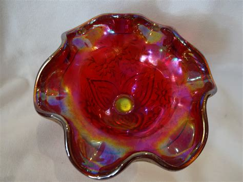 carnival glass value fenton carnival glass comporte for sale antiques com classifieds
