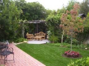Backyard Landscaping Plans by Backyard Landscaping Ideas Santa Barbara To Earth