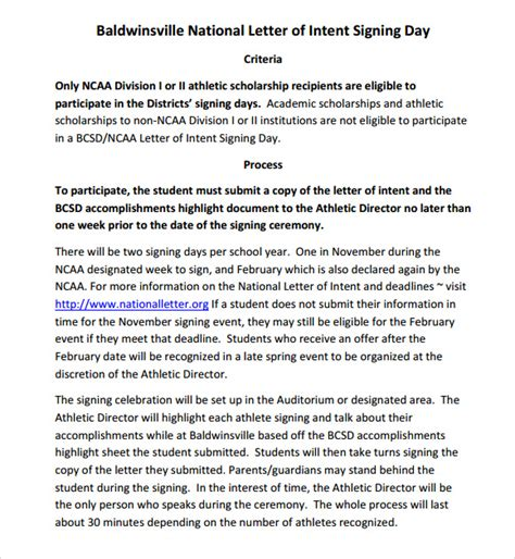 ncaa letter of intent national letter of intent national letter of intent sle 12774