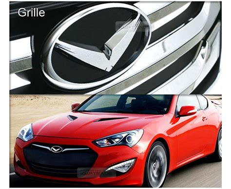 Horn Hyundai by Eagle Emblem Grille Trunk Horn Wheel Badge 7ea For Hyundai