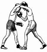 Boxing Clipart Gloves Uppercut Transparent Outline Svg Vector Boxer Opstoot Psf Coloring Clip Sparring Tinju Boxen Upper Boxning Cut Grasse sketch template
