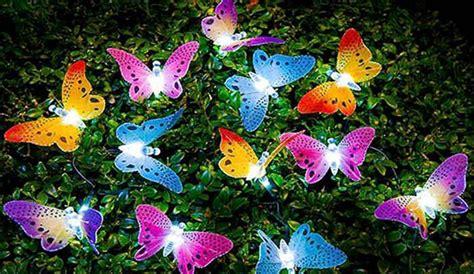 butterfly solar garden lights 55