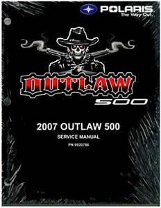 2007 Polaris Outlaw 500 Service Manual