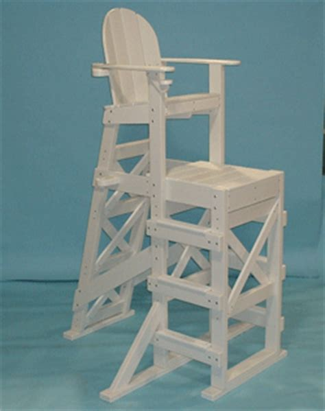tlg530 tall large lifeguard chair with side steps by