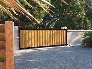 Portail Sur Mesure : portails bois sur mesure cabanes de r ve ~ Melissatoandfro.com Idées de Décoration
