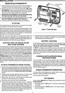 White Rodgers Thermostat Wiring Diagram 1f80 261