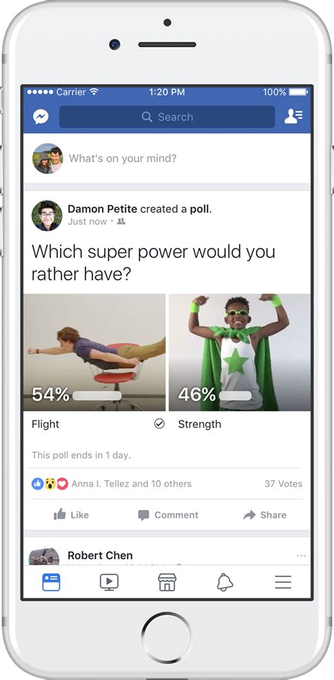 Facebook Adds A New Poll Feature To News Feed