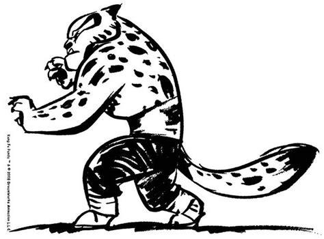 Tigress Go To Fight Coloring Pages