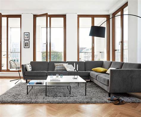 bo concept canapé déco salon divan gris
