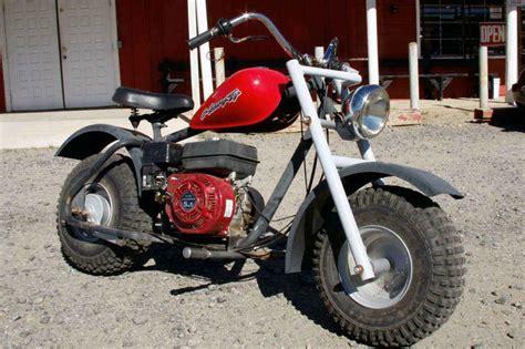 Red Mini-bike 5.5hp Honda Type Motor, In Running Condition