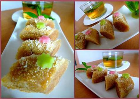 cuisine marocaine patisserie recette de m 39 hancha pâtisserie marocaine