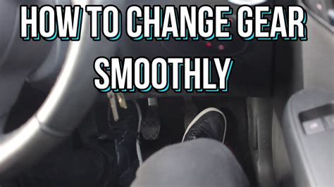 How To Change Gear Smoothly In A Manual Car  Stick Shift
