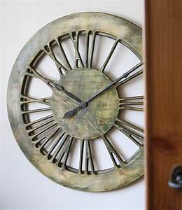 Very large modern wall clocks handmade cm diameter