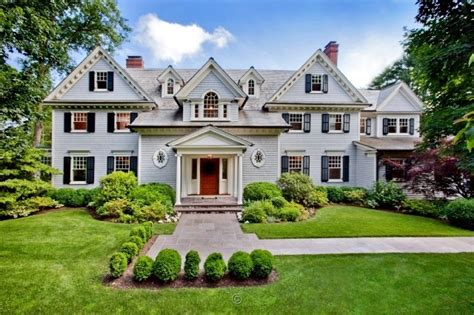 breathtaking traditional colonial  westport ct homes