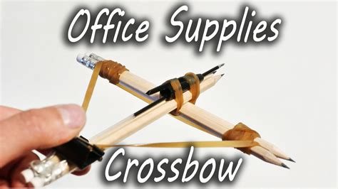 paper clip holder how to office supplies crossbow