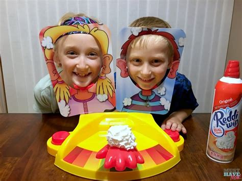 Family Game Night With The New Pie Face Showdown Game