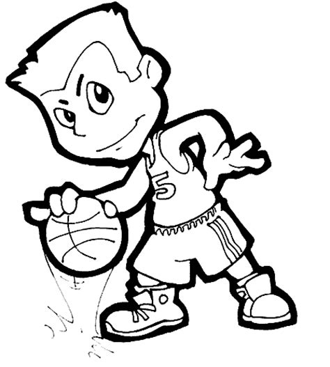 printable coloring pages  basketball jersey coloring pages
